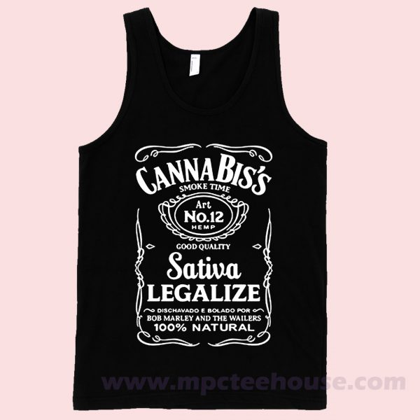 Cannabiss Sativa Tank Top