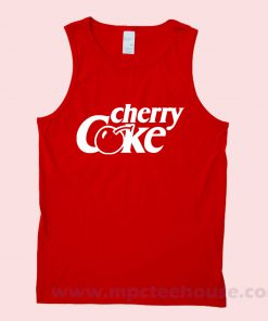 Cherry Coke Unisex Tank top