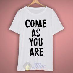 Come As You Are Nirvana Lyrics T-Shirt
