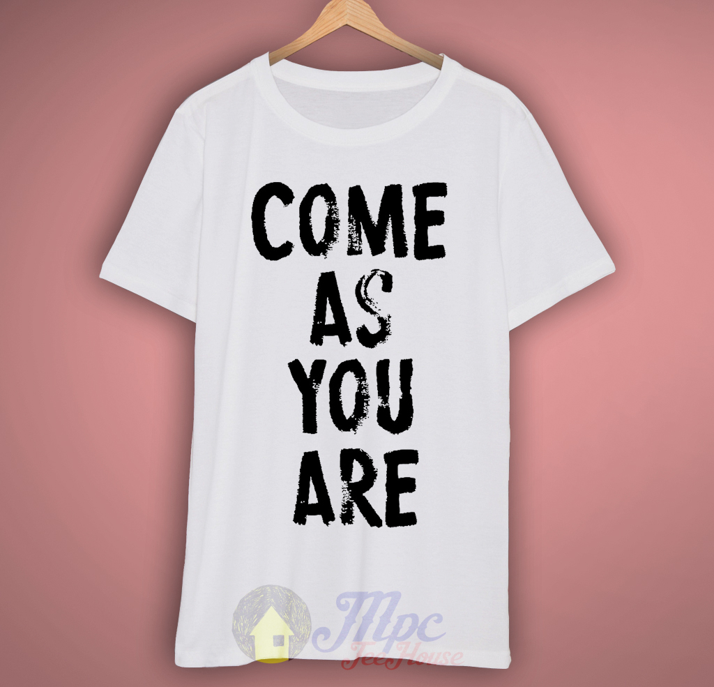 Come As You Are Nirvana Lyrics T-Shirt