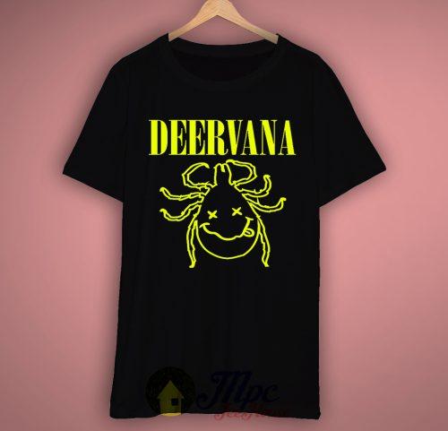 Deervana Nirvana Parody T-Shirt