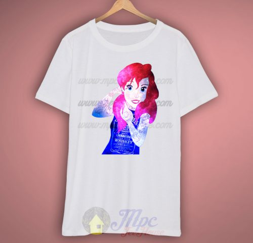 Disney Ariel Little Mermaid Punk T Shirt