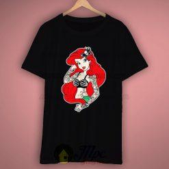Disney Little Mermaid Rebel Punk T Shirt