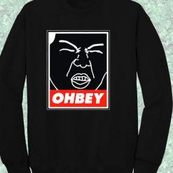 Exo Sehun Ohbey Crewneck Sweatshirt