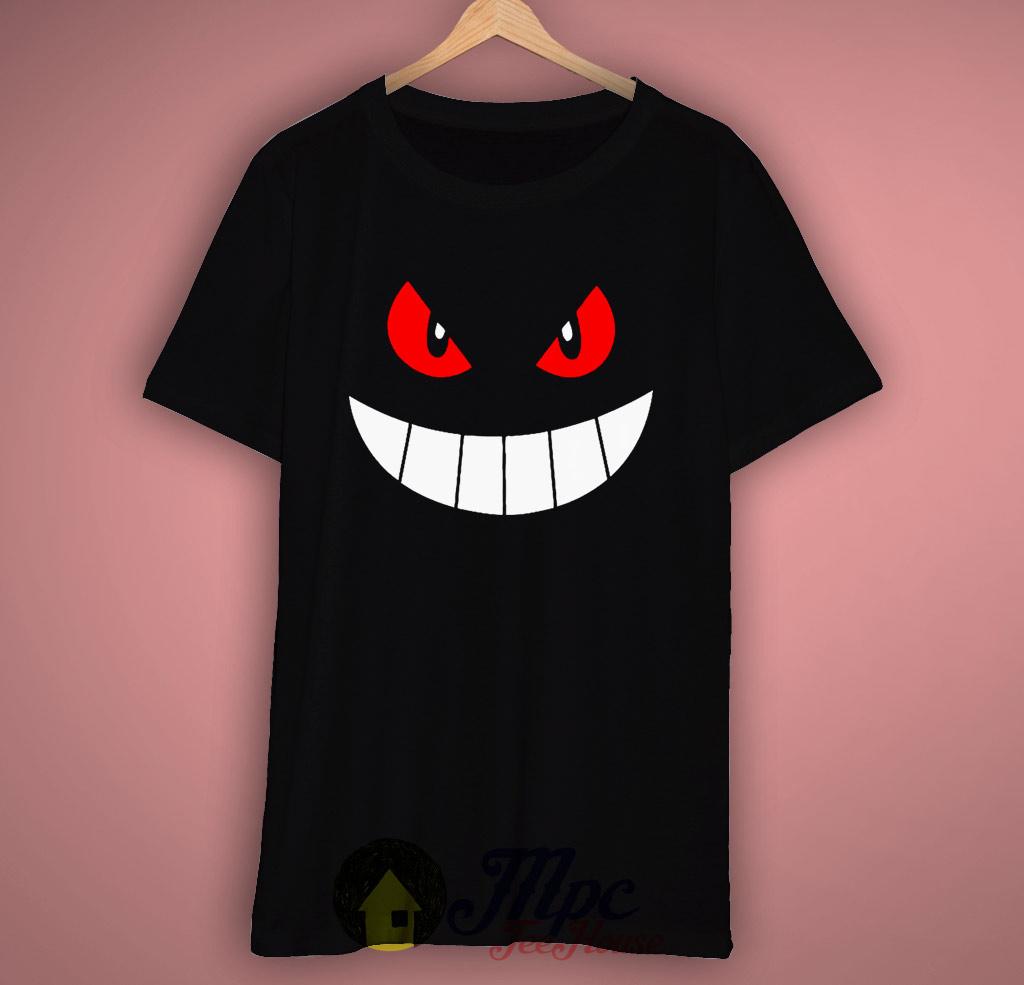 5f2085d61 Gengar Pokemon Eye T Shirt – Mpcteehouse: 80s Tees