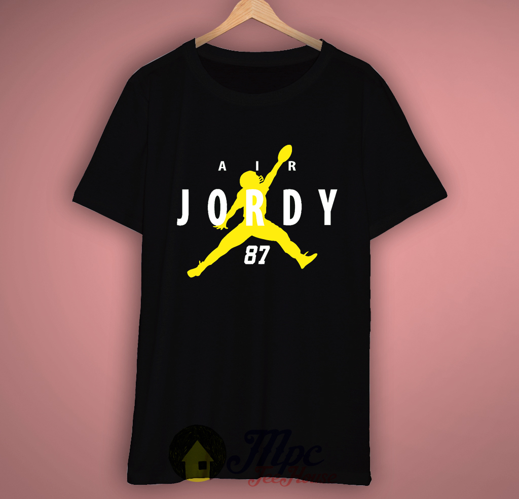 Green Bay Packer Air Jordy T-Shirt