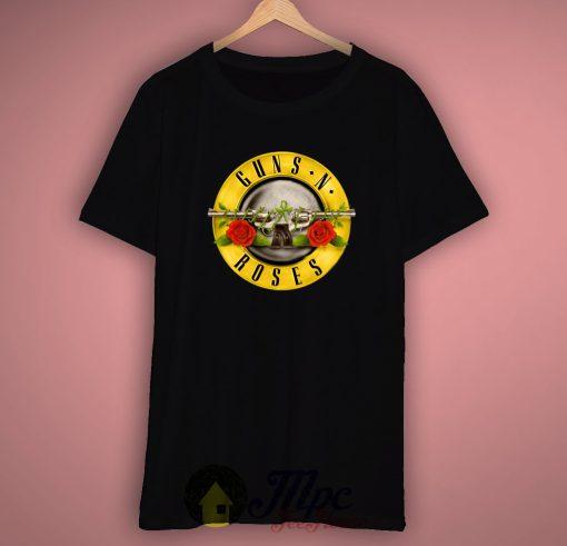 Gun and Rose T Shirt
