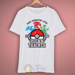 Hoenn Pokemon Trainer T-shirt