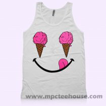 Ice Cream Smile Tank Top