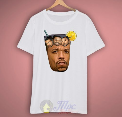 Ice Cube Glass Ice Tea T Shirt