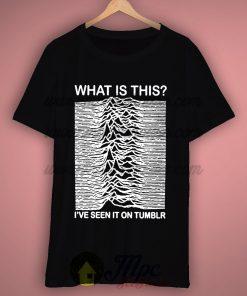 e07c19f95 Joy division I've Seen On Tumblr T Shirt. mpcteehouse tshirt size chart