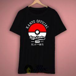 Kanto Pokemon Trainer T-Shirt