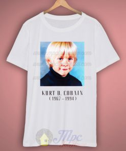 Nirvana Kurt Cobain Child 1967-1994 T Shirt