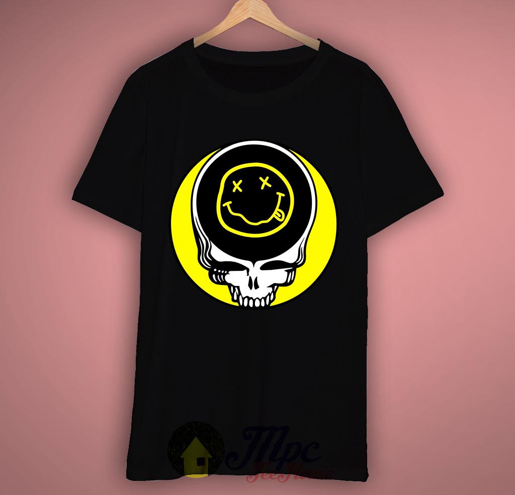 Nirvana Grateful Dead T-Shirt – Mpcteehouse: 80s Tees