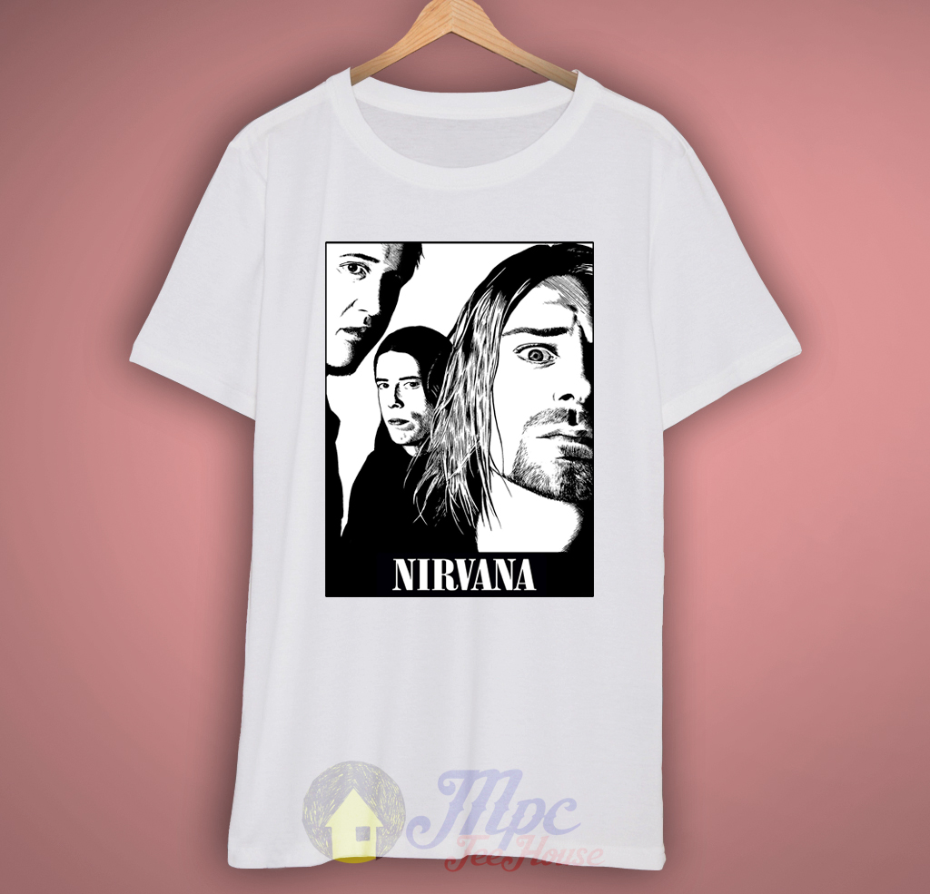 Nirvana Group Grunge T-Shirt