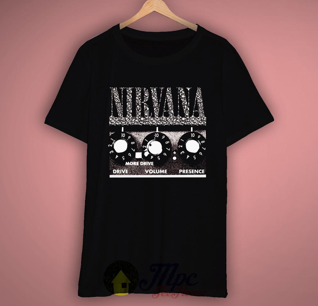 Nirvana Pedal Effects Grunge T-Shirt