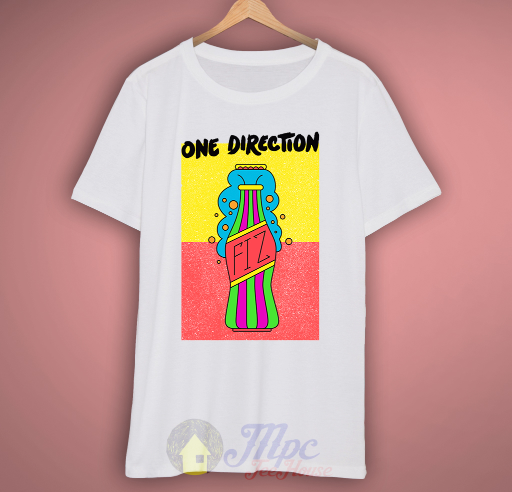 One Direction Coke Bottle T-Shirt