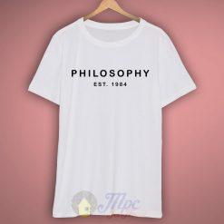 Philosophy 1984 T Shirt