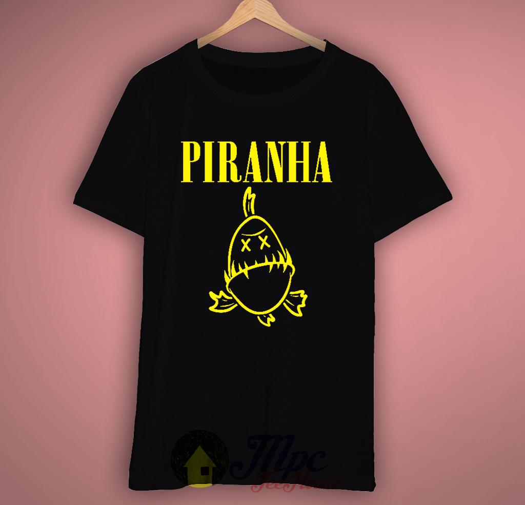Piranha Nirvana Parody T-Shirt