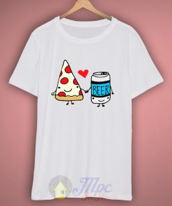 Pizza Beer Best Friend T-Shirt