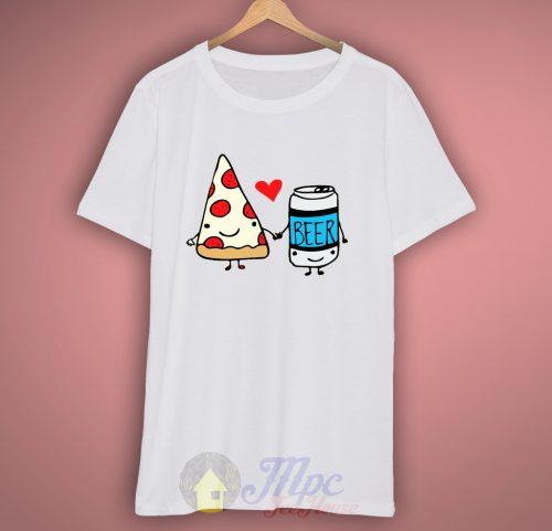 Pizza Beer Best Friend T-Shirt