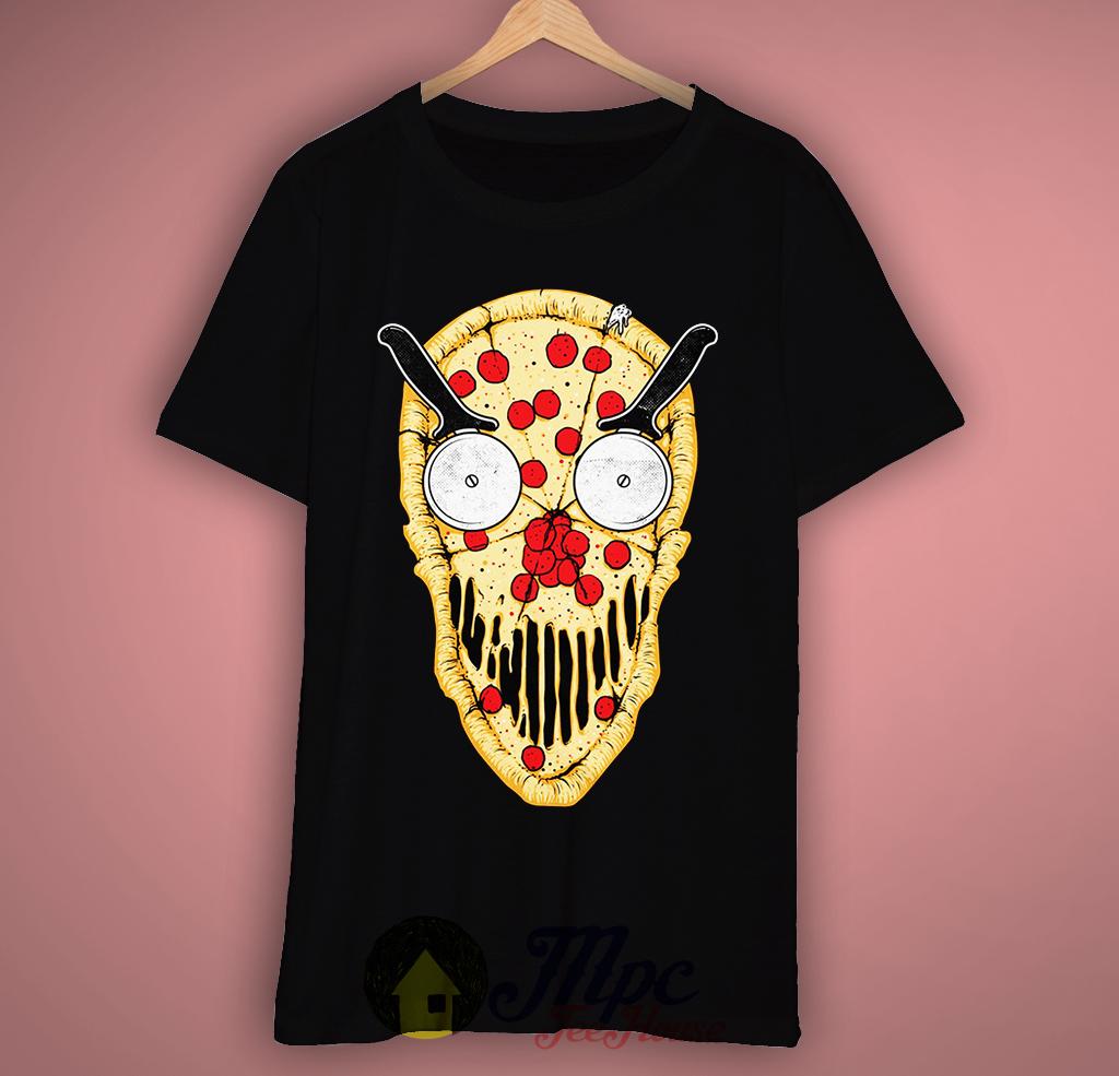 Pizza Skull T-Shirt
