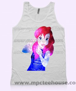 Punk Ariel Little Mermaid Tank Top