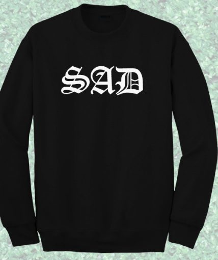 Sad Goth Crewneck Sweatshirt