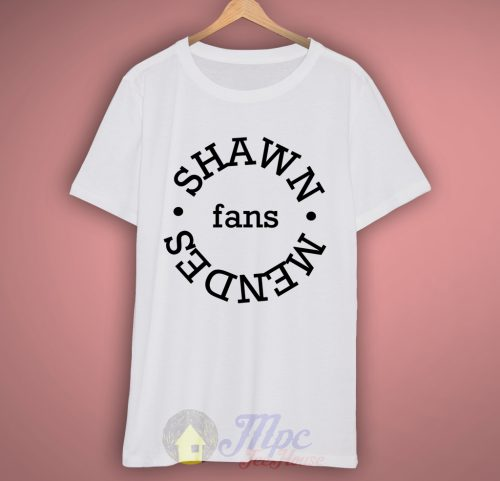 Shawn Mendes Fans T-shirt