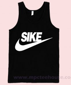 Sike Just Do It Tank Top