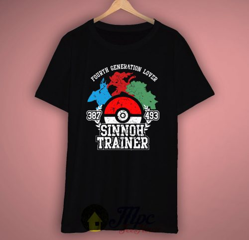 Sinnoh Pokemon Trainer T-shirt