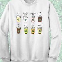 Starbucks Dating Crewneck Sweatshirt