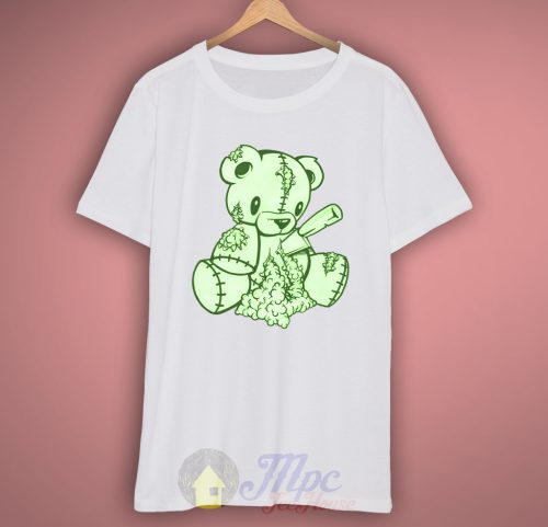 Teddy Bear Zombie White T-Shirt