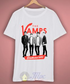 The Vamps 2012 T-shirt