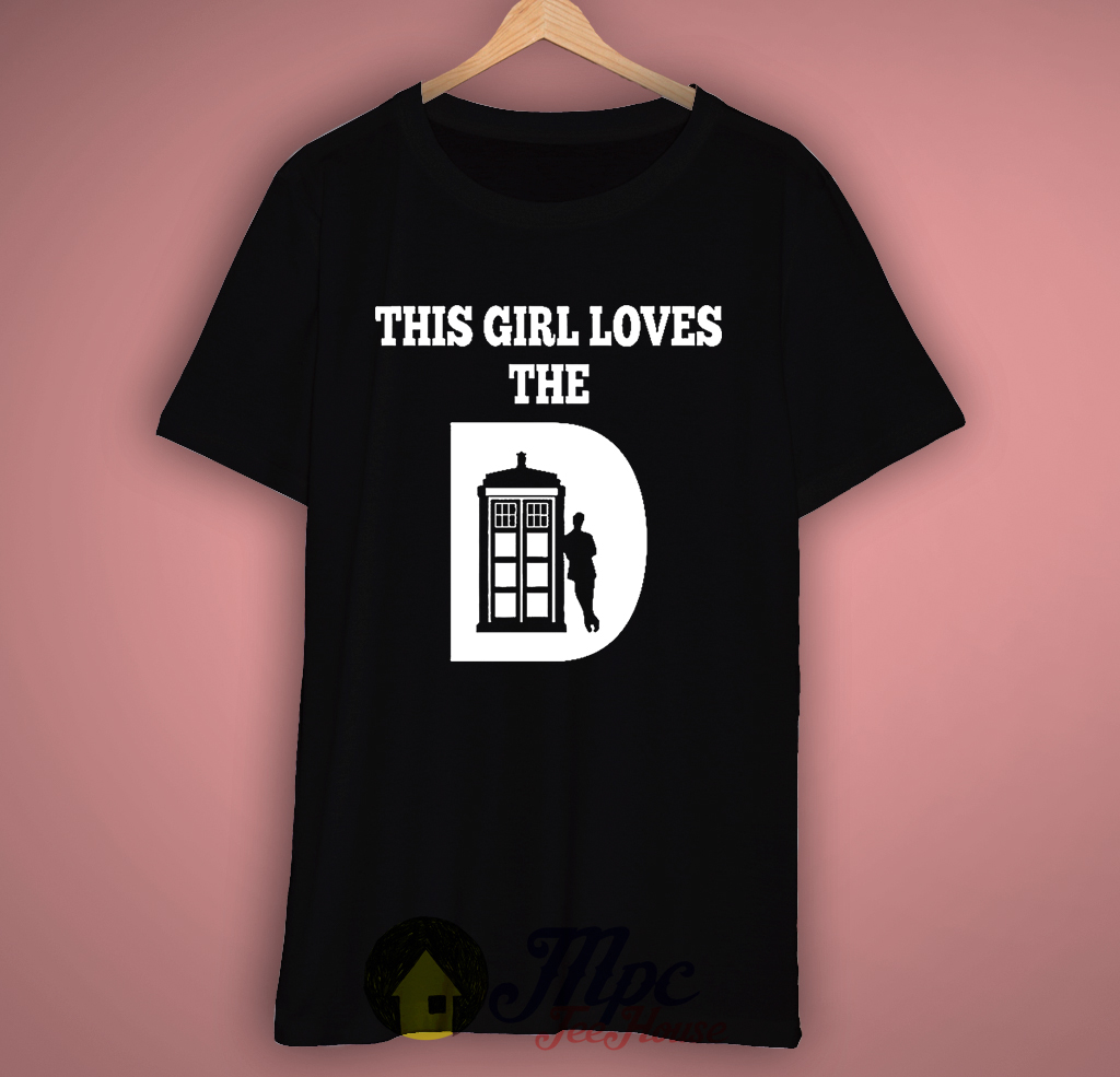 This Girl Love Doctor Who T-shirt