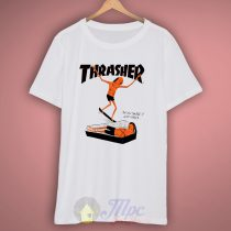 Thrasher Neck Face Skate T-Shirt