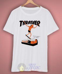 Thrasher Neck Face Skate T-Shirt