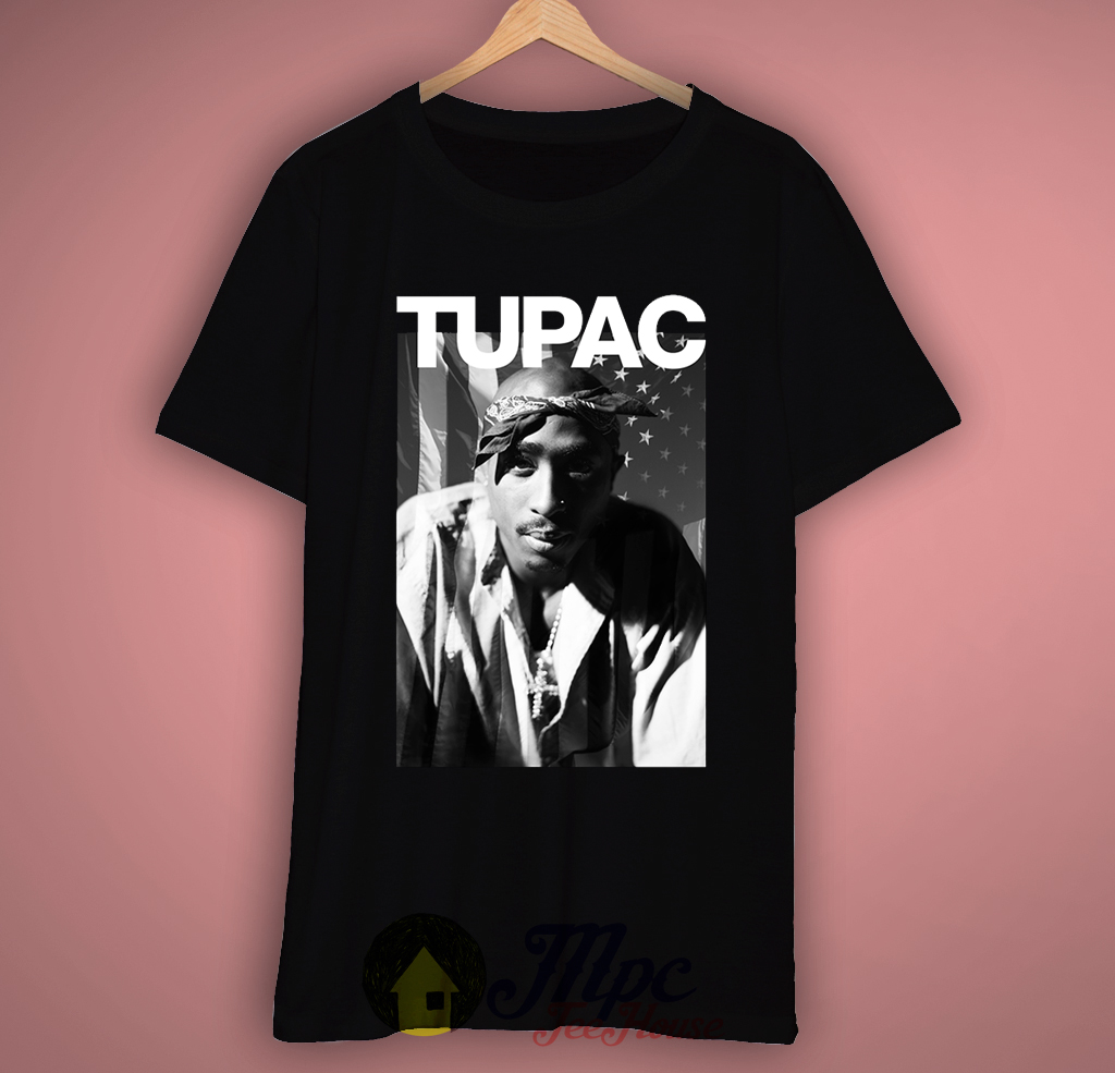Tupac Hiphop Rapper T-Shirt