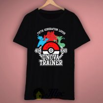 Unova Pokemon Trainer T-shirt