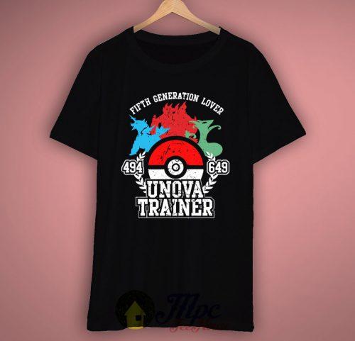 Unova Pokemon Trainer T-shirt