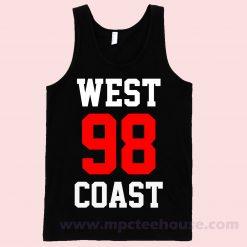 West 98 Coast Unisex Tank Top