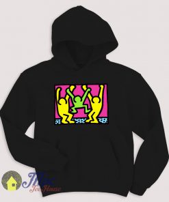 American People Dancing Pop Art Style Hoodie
