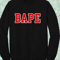 Bape Crewneck Sweatshirt
