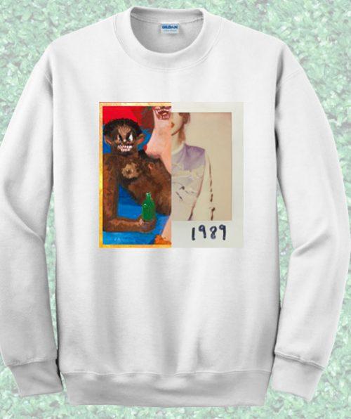 Album Cover Kanye West Taylor Swift Sweatshirt