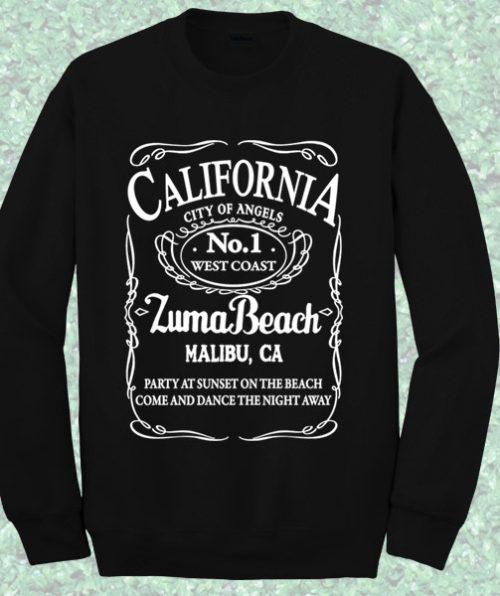 California Malibu Beach Sweatshirt
