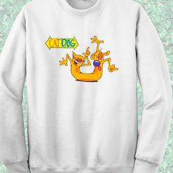 Catdog Crewneck Sweatshirt