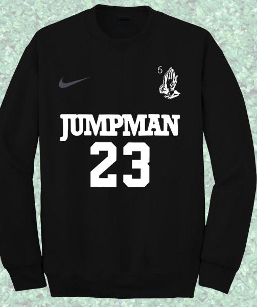 01c5d5e0bbf714 Drake Jumpman Sweatshirt – Mpcteehouse  80s Tees