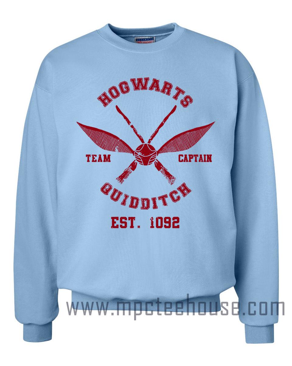 Hogwarts Harry Potter Quidditch Sweatshirt