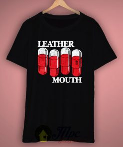 Leather Mouth T Shirt