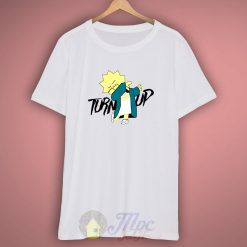 Lisa Simpson Turn Up Parody T Shirt